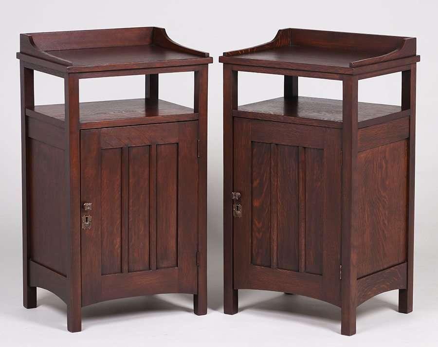 Pair Conrey Davis Vice Cabinets