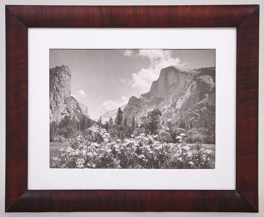 Vintage Photo Yosemites Half Dome C1920s California Historical Design