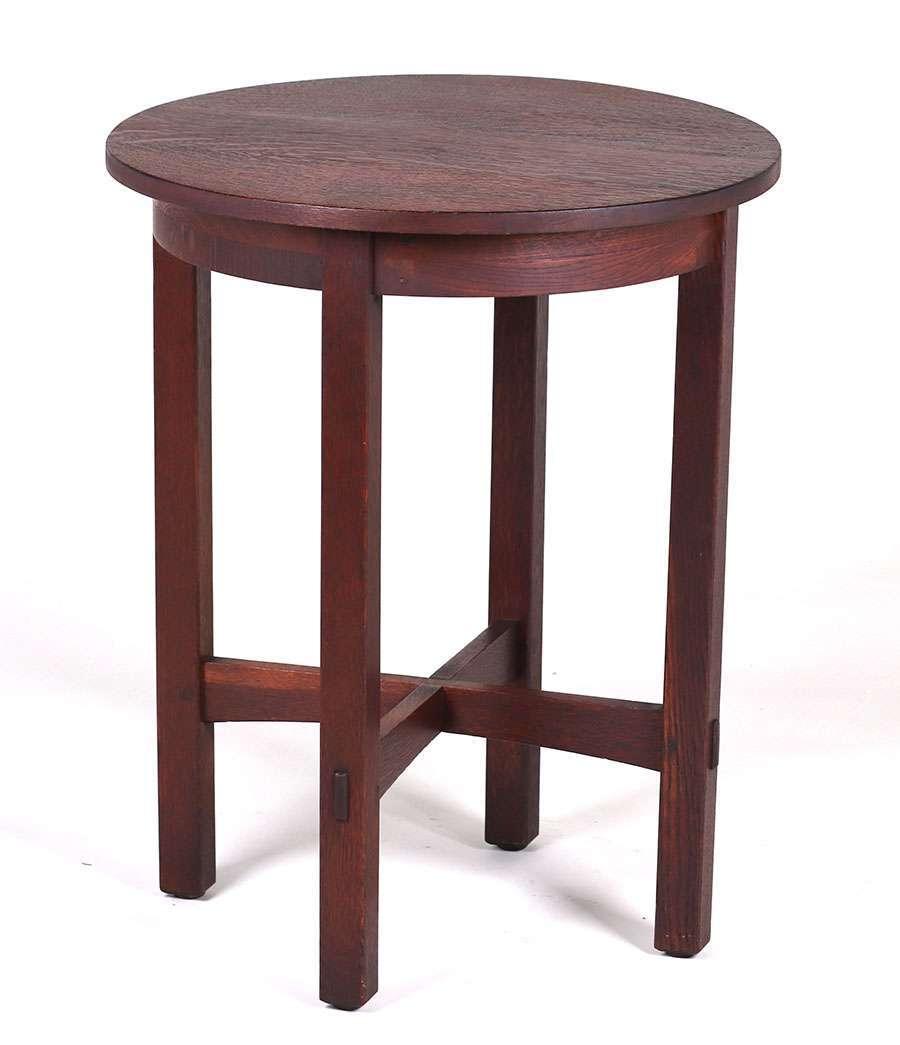 L Amp Jg Stickley 24 Quot D Lamp Table C1907 1912 California