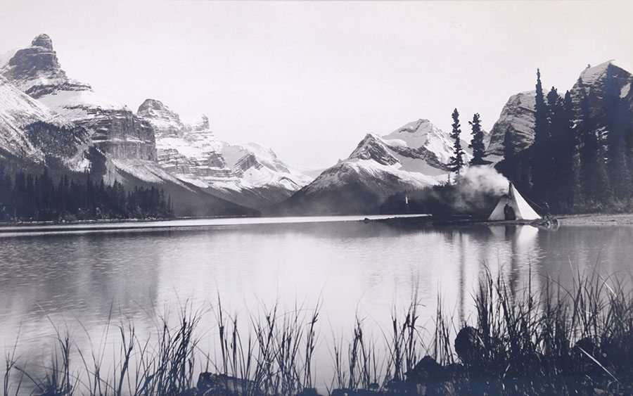 Harrison Crandall Photo String Lake Jackson Wy C1910 California Historical Design