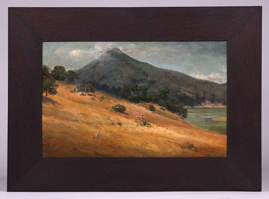 Bertha Stringer Lee Mt Tamalpais Painting California