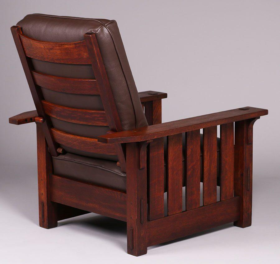 Mary Morris Chair Aerobics: Gustav Stickley #332 Morris Chair