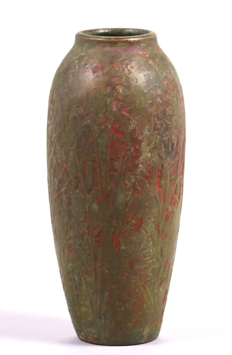 Markham Pottery Vase Ann Arbor Mi C1908 1910 California Historical Design