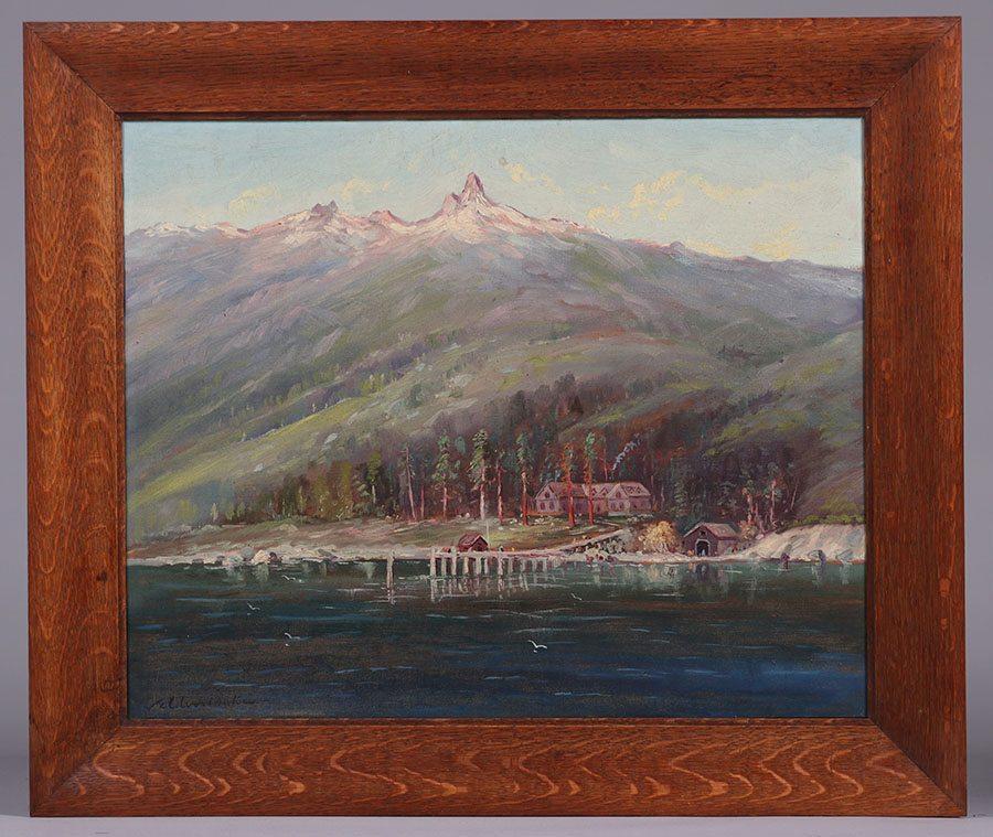 Samuel Tilden Daken Lake Tahoe Painting California
