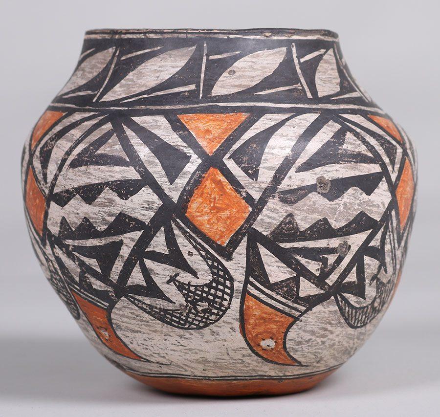 Tesuque Pueblo Vase C1910 1920 California Historical Design