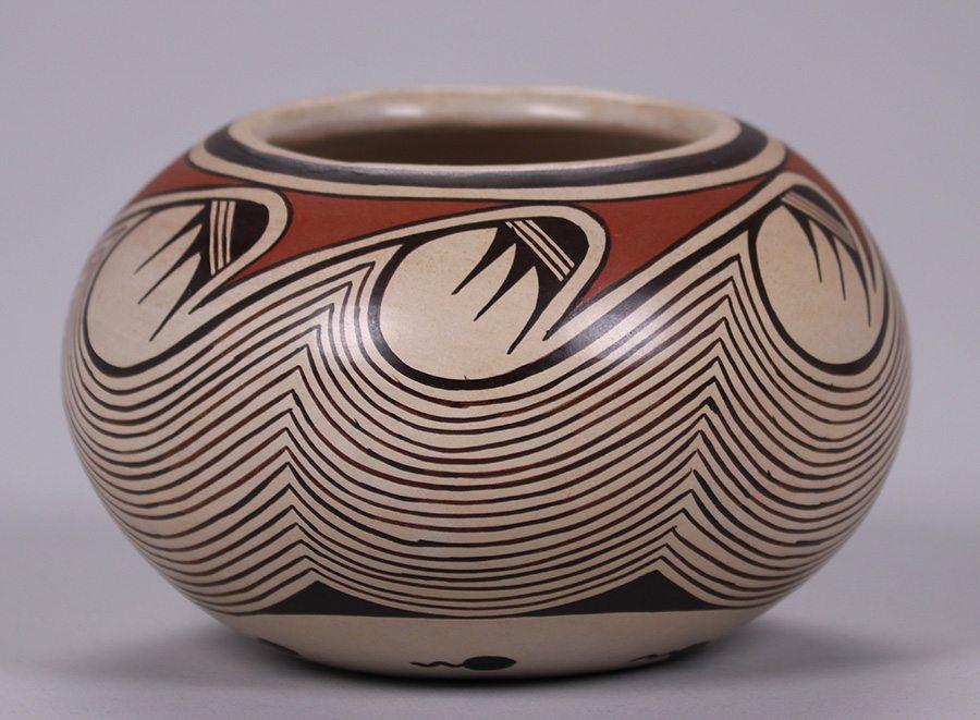 Sylvia Naha Hopi Spherical Vase California Historical Design