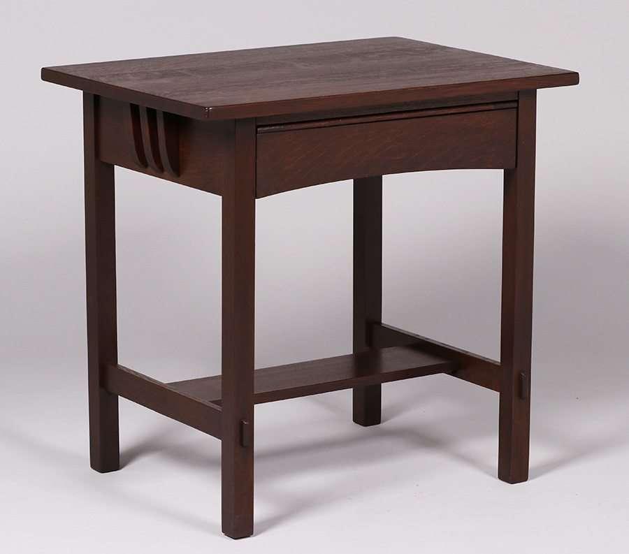 Limbert One Drawer Small Side Table Desk California Historical Design