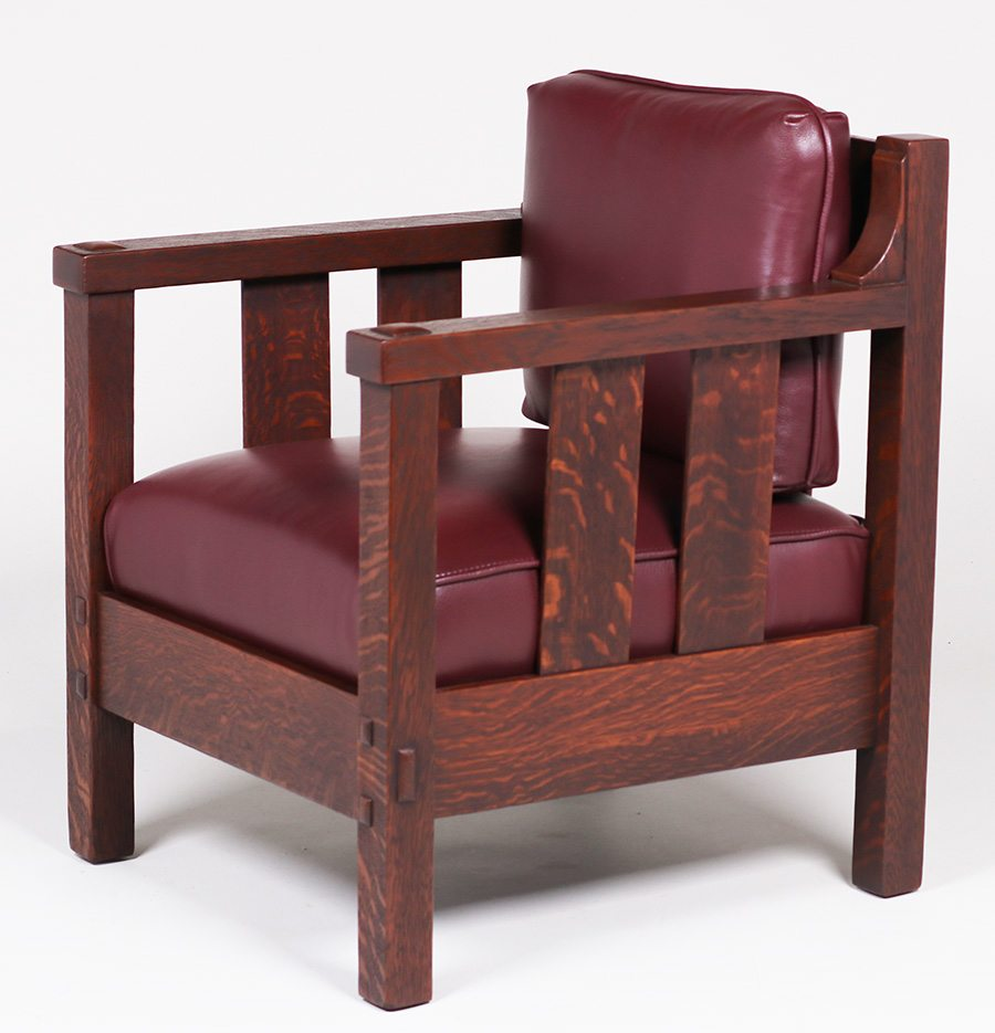 Lifetime Furniture Co Cube Armchair & Rocker c1910 ...