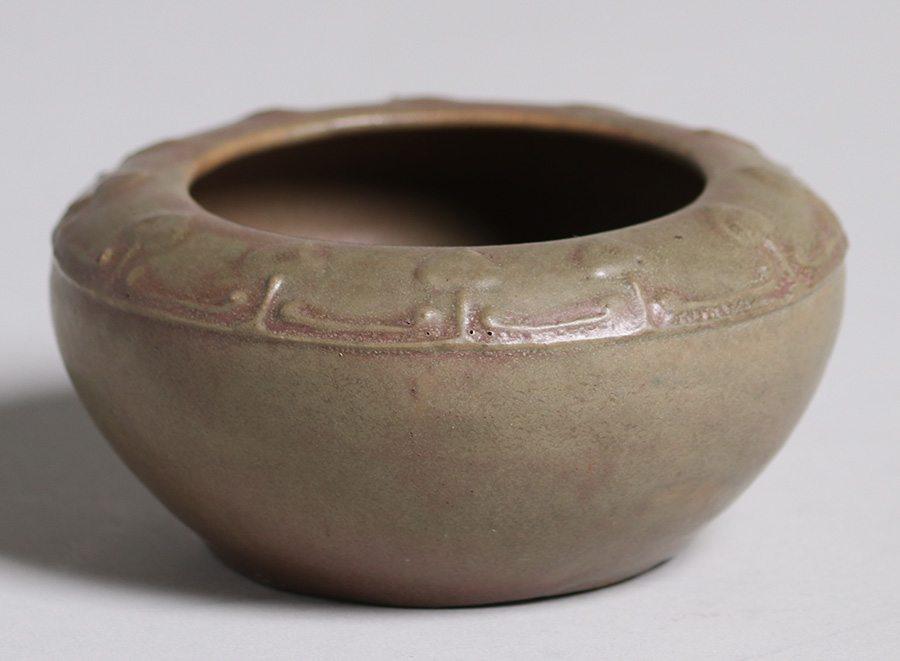 Frederick Hurten Head Pottery Bowl Santa Barbara