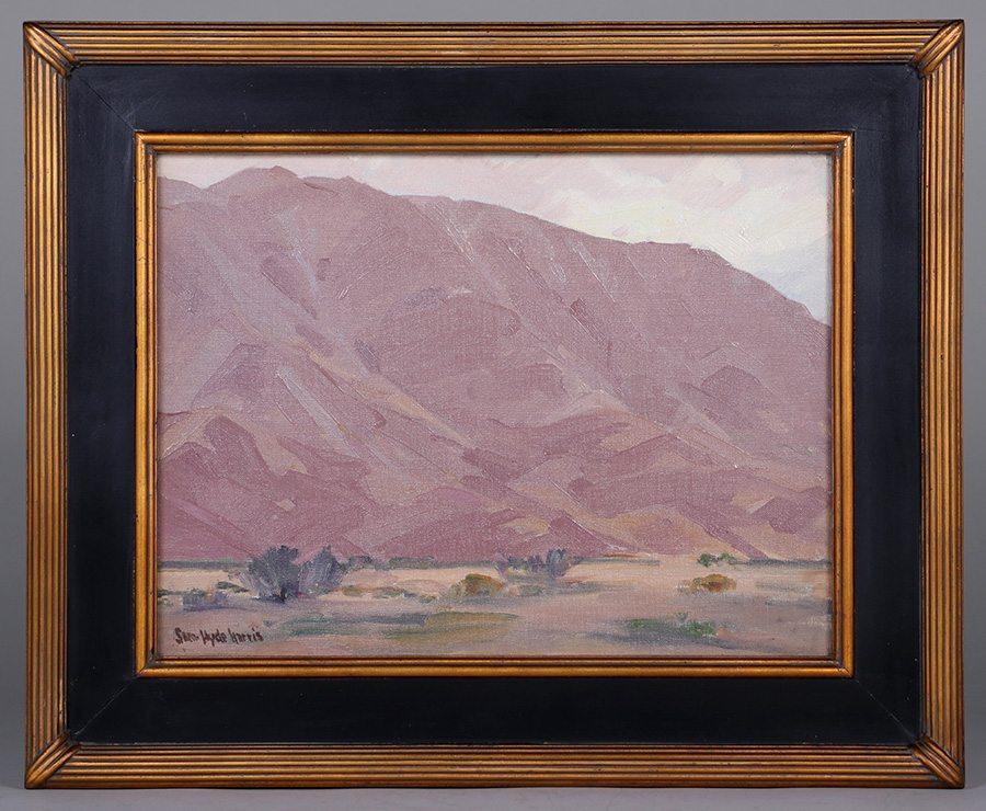 Sam Hyde Harris Painting California Historical Design