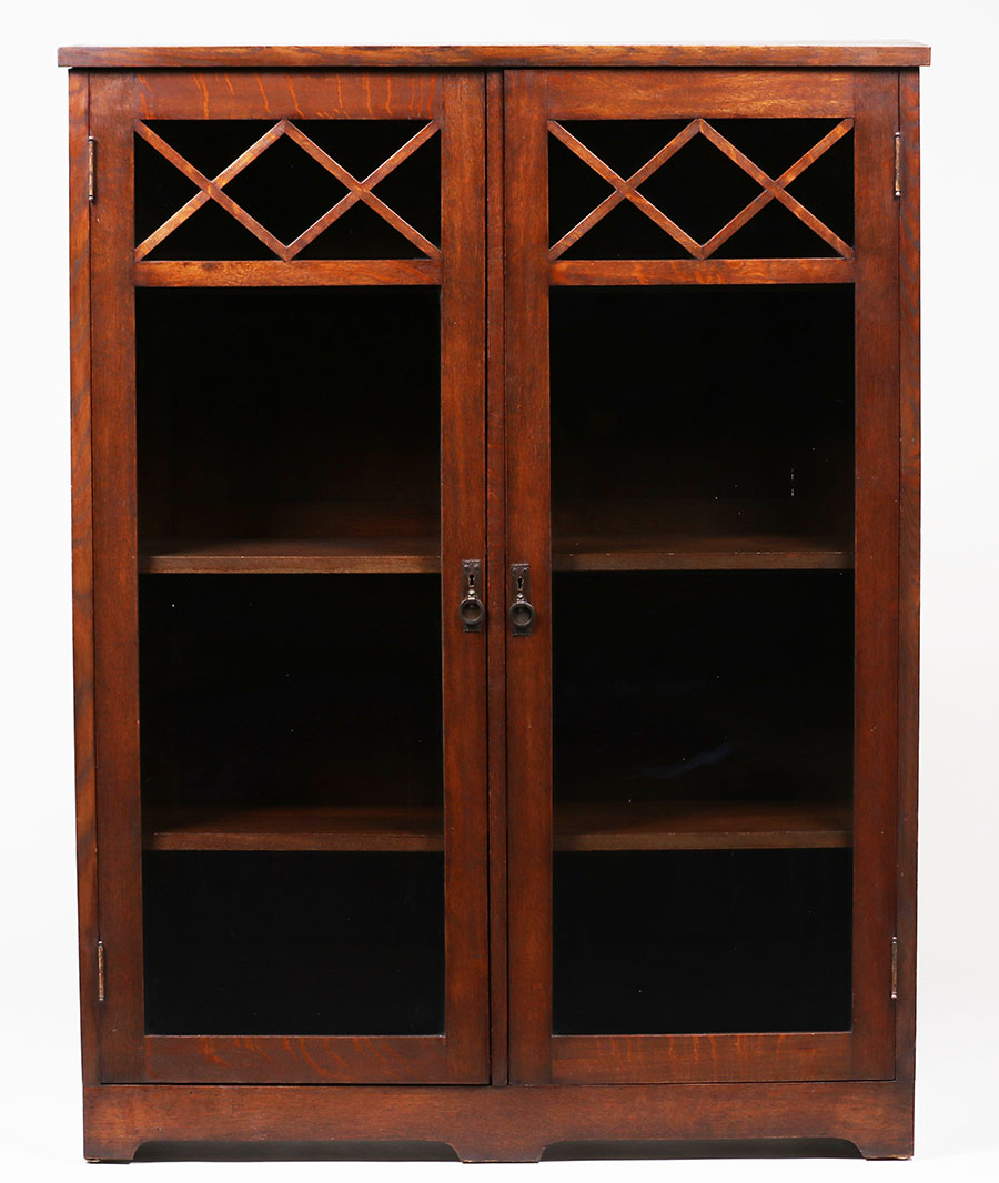 Grand Rapids Two Door Bookcase C1905 1910