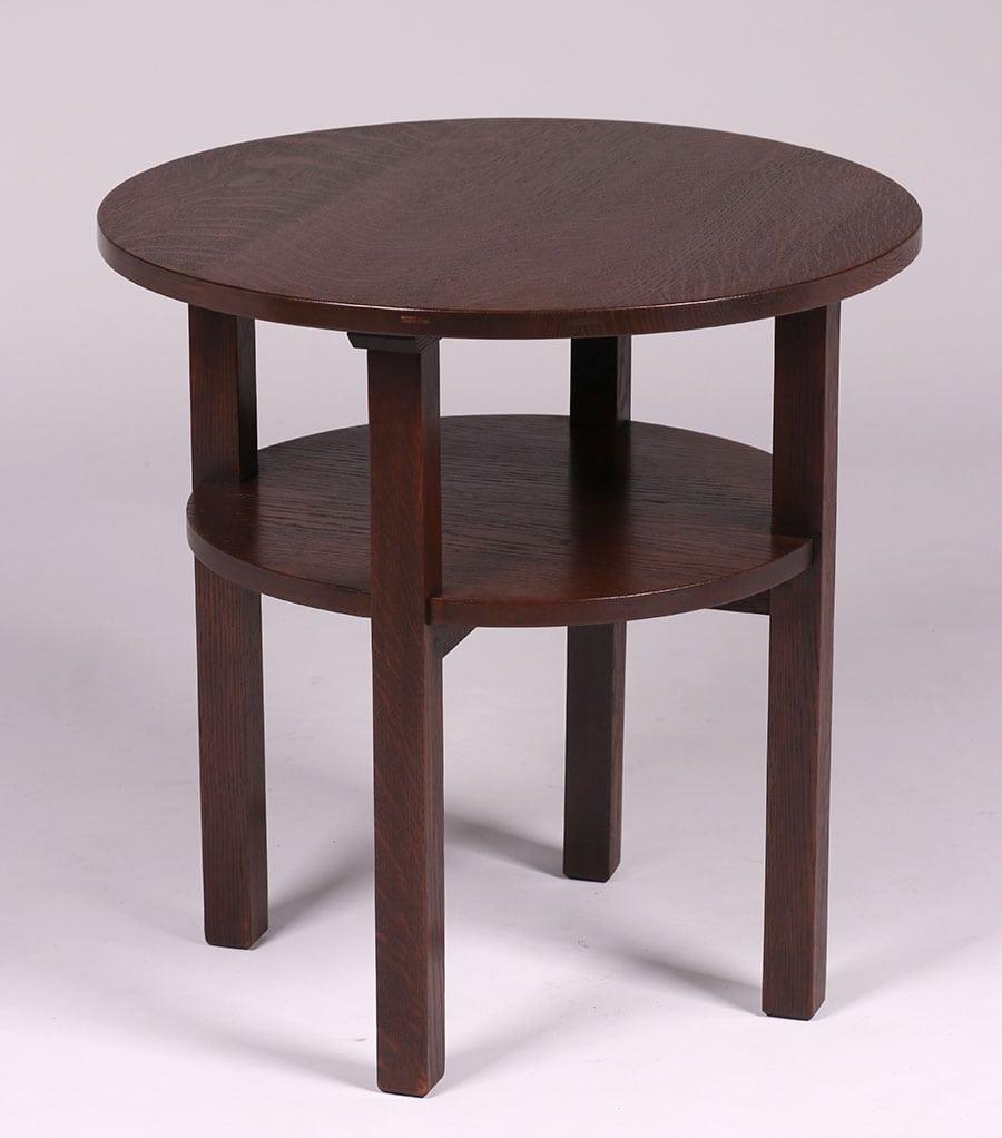 L Amp Jg Stickley Lamp Table C1910 California Historical Design