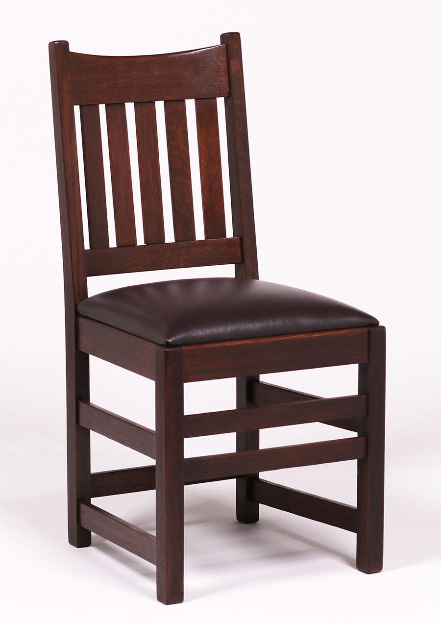 Set Of 5 Limbert Dining Chairs California Historical Design