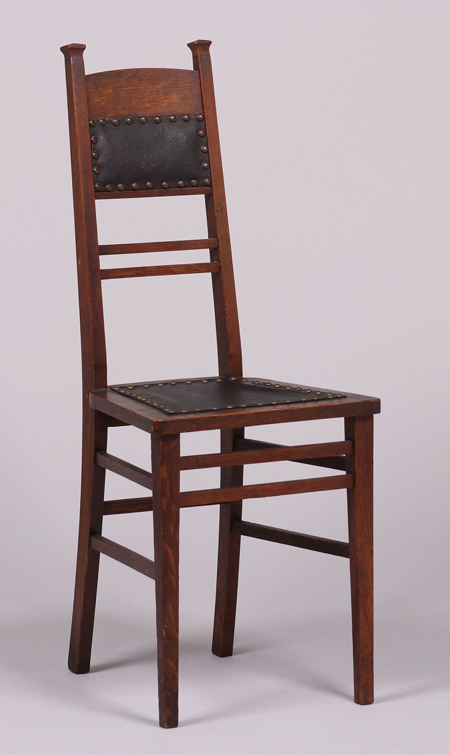 Arts & Crafts Narrow Desk Chair c37  California Historical Design