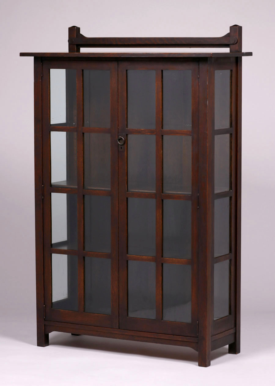 Stickley Brothers Two Door China Cabinet