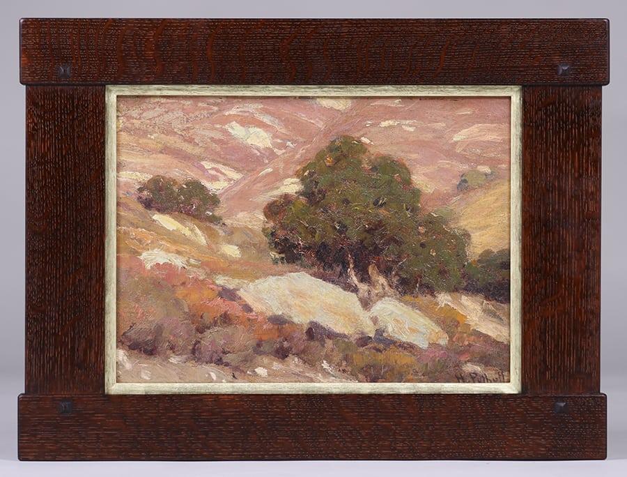 Hanson Puthuff California Oak Tree Painting California