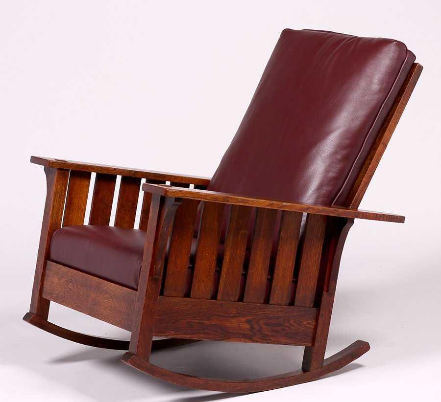 Amazing Ljg Stickley 475 Fixed Back Slatted Rocker California Creativecarmelina Interior Chair Design Creativecarmelinacom