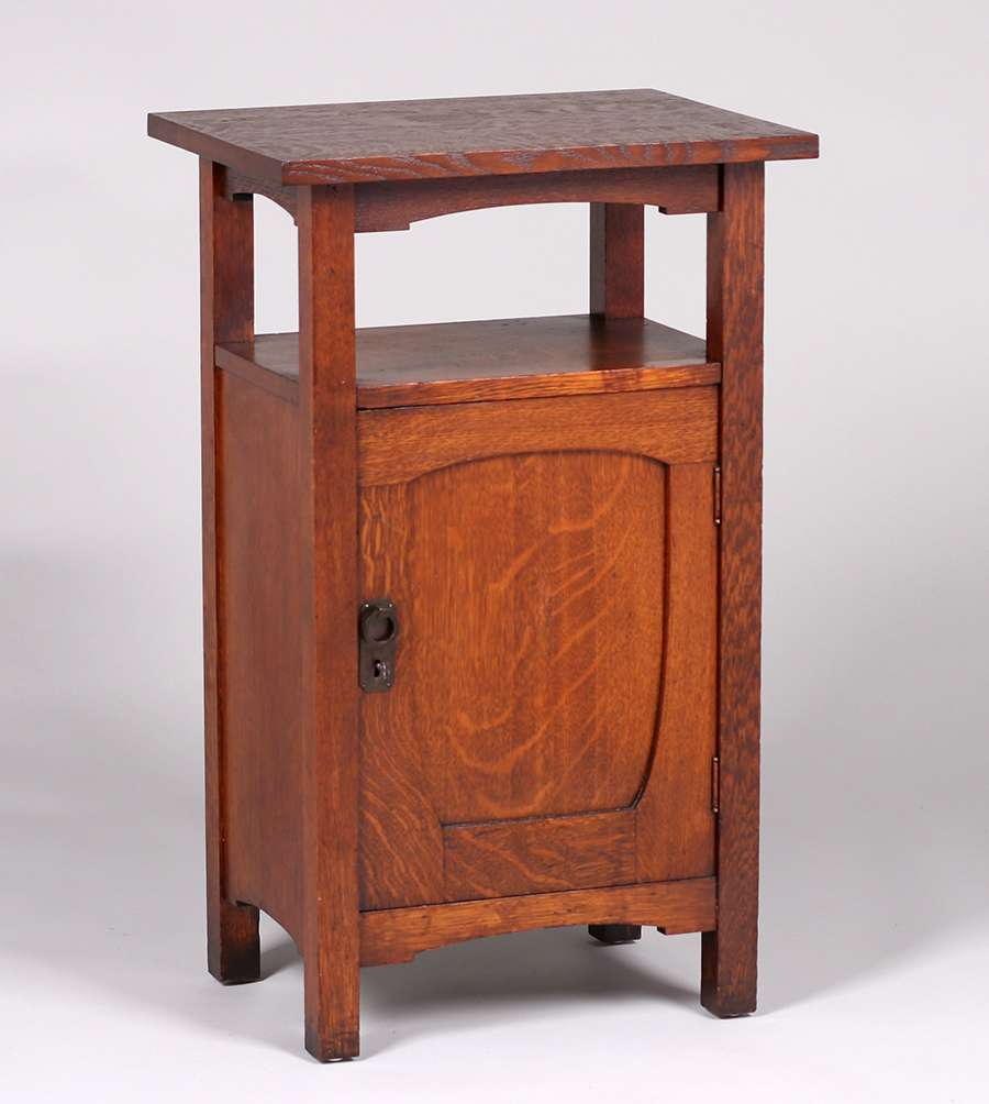 Grand Rapids One Door Nightstand C1910 California