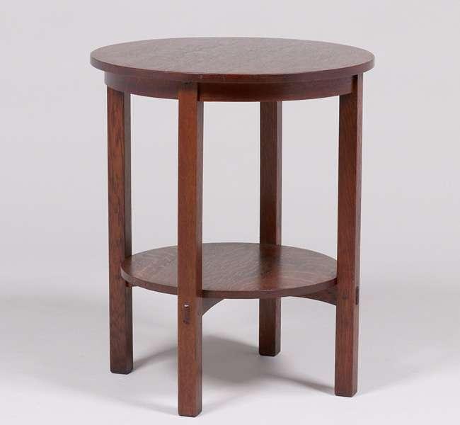 Gustav Stickley 607 Lamp Table C1910 California