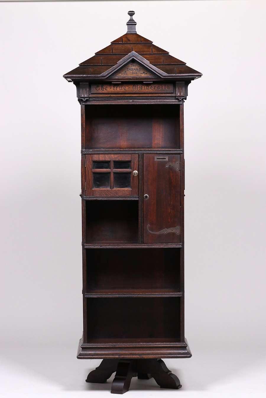 Seymour Easton 1859 1916 Tabard Inn Library Revolving Bookcase C1902 California Historical
